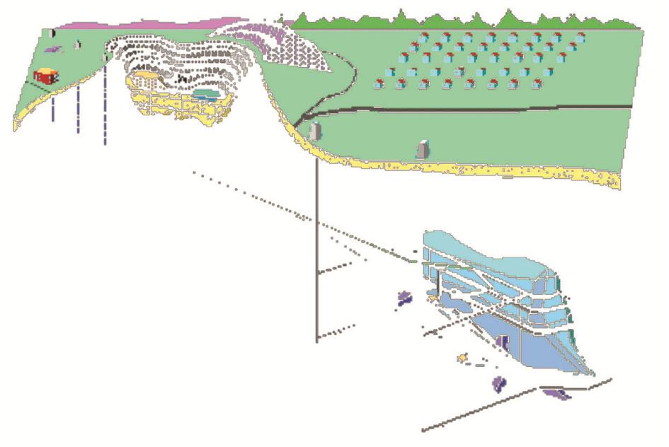 Схема разработки нефтегазового месторождения